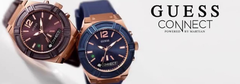 guess connect smartwatch